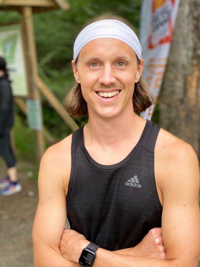 Att Jakob Böhm (som är en seriös löpare) har en Apple Watch som träningsklocka är ett stort mysterium.