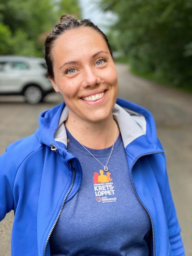 Elin Svenningsson på Kretsloppet
