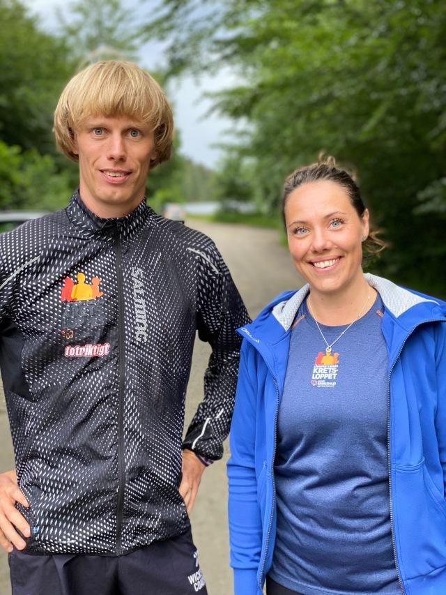 Elin Svenningsson och jag var representanterna från Kretsloppet