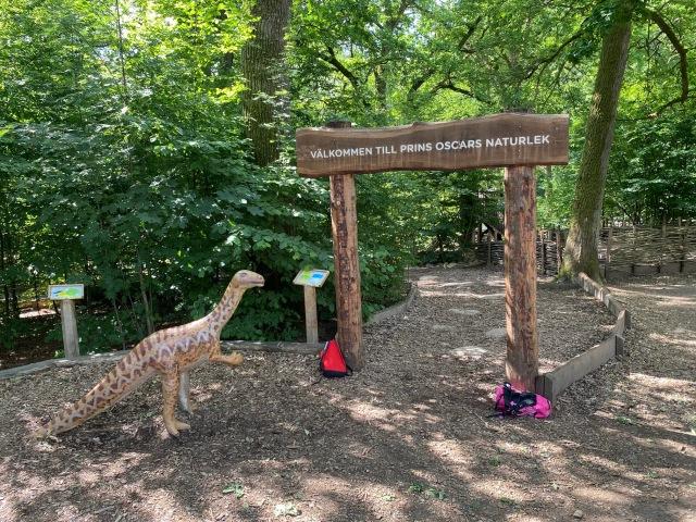 """Pluspoäng till Klippans kommun för ett fin """"naturlekplats"""" vid naturrum i Skäralid vid Söderåsen"""