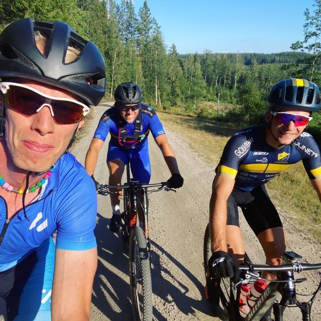 Cykling med Max Åhman och David Eriksson