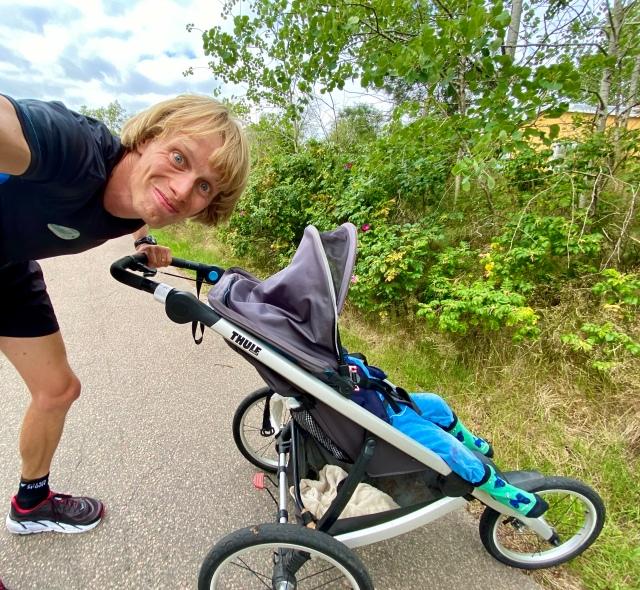 Barnvagnslöpning med Thule Glide