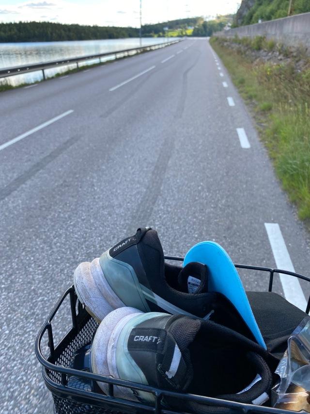 Cykelkorg, ett måste på en hybridcykel