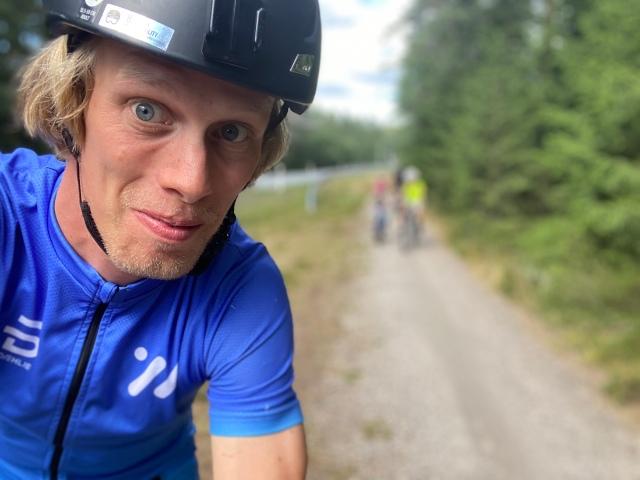 Cykling på Isaberg