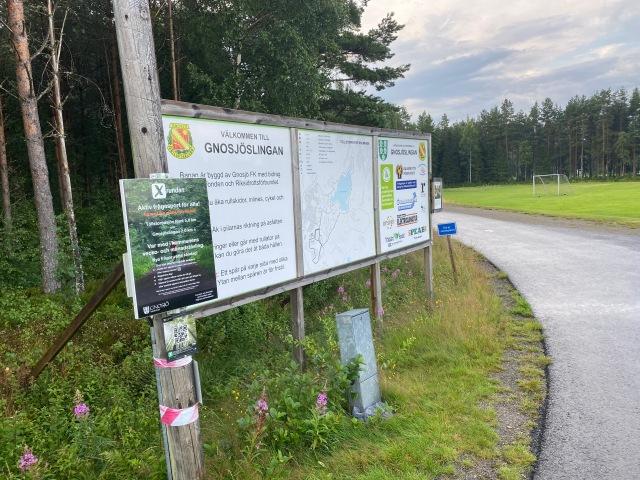 Rullskidbanan i Gnosjö är knappt 2 km.