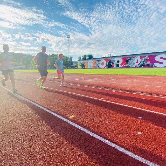 Kretsloppets träningskväll på Ryavalllen i Borås