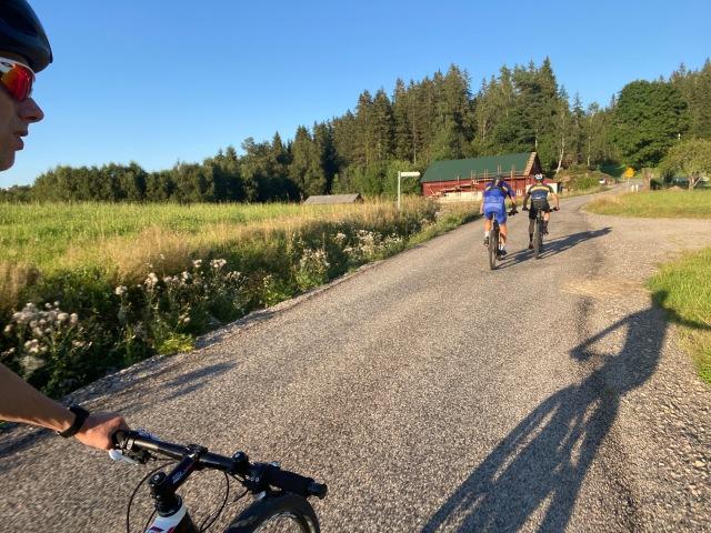 Hemmavasan/Cykelvasan 90 på MTB med Max Åhman och David Eriksson