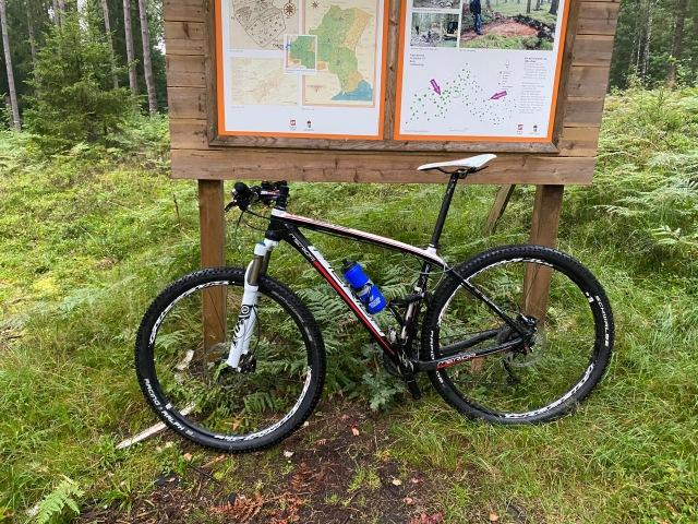 Hemmavasan Cykel 30 vid Källeberg i Sjömarken