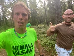 Tobias Magnusson har en fot som trilskas, men är i finfin form rent konditionsmässigt