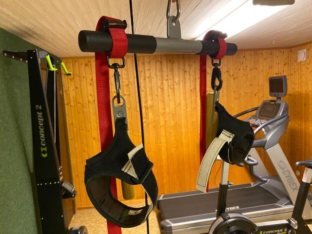Skigrip för att göra styrketräningen mer skidlik
