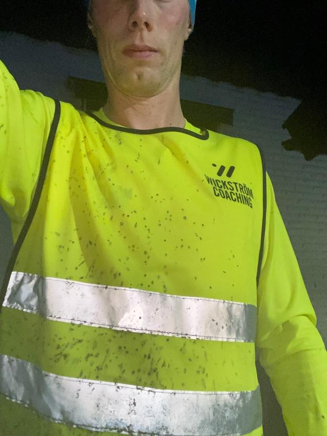 Smutsig Wickström Coaching-reflexväst