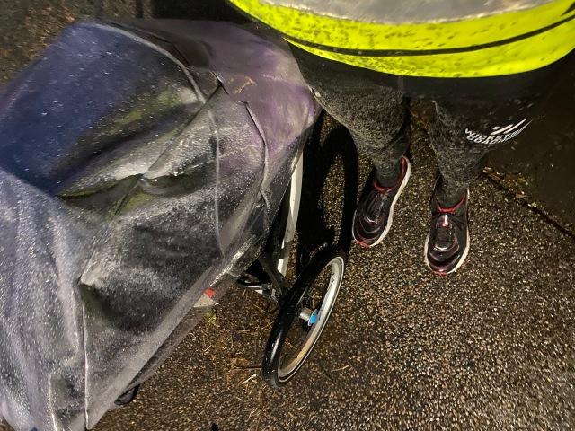 Grusig barnvagnlöpning med Thule Glide 2
