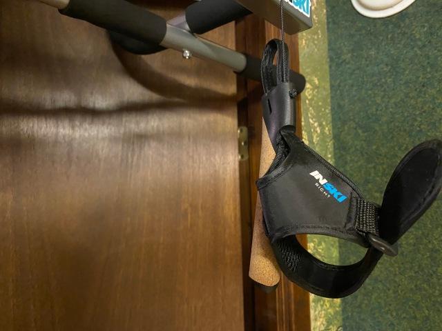 Inski XC Trainer stakmaskin handtag och handremmar.