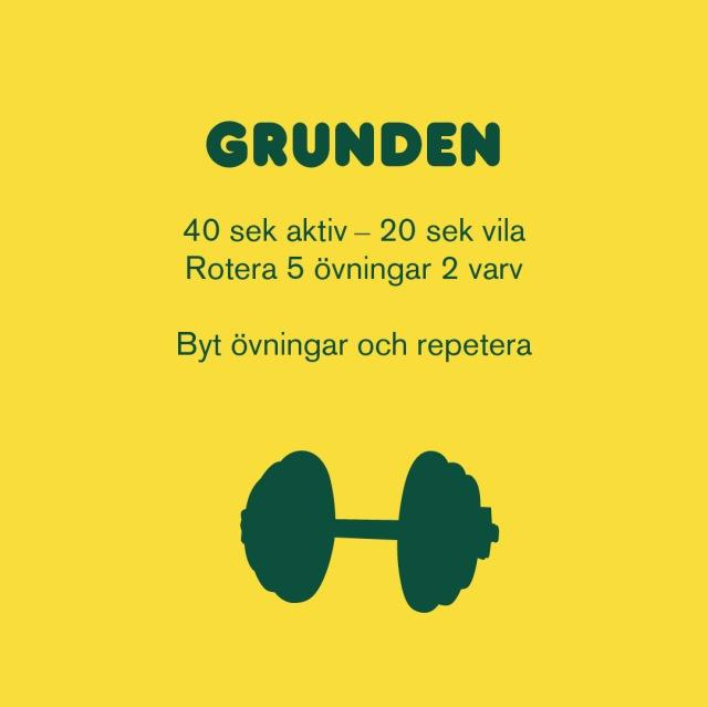 Styrketräning som inte kräver gym