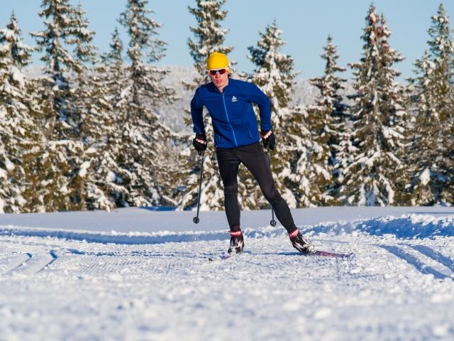 Online skate cross country course Acadyme from Sjusjøen. Erik Wickström.