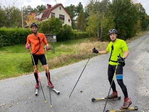 Kristian Olofsson och Henrik Litzell