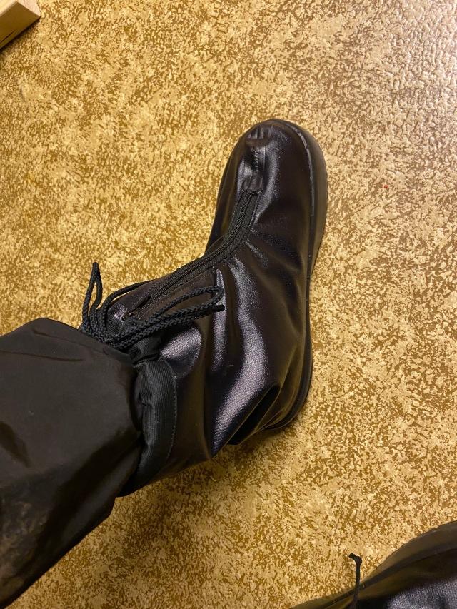 Så här kommer mina fötter se ut i samband med träning och tävling i vinter