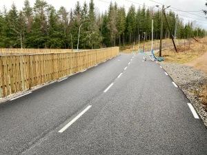 Rullskidbanan vid Knektås utanför Borås