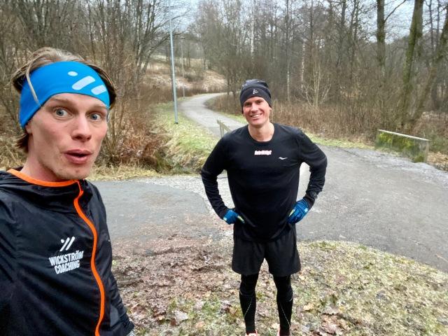 Löpintervaller vid Byttorpssjön med Linus Wirén