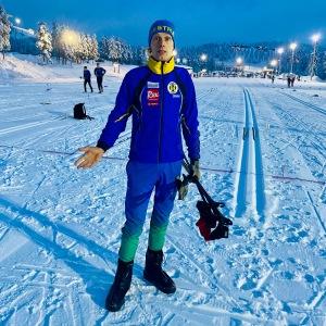 Inför start i Craft Ski Marathon i Orsa Grönklitt