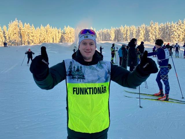 Martin Holmstrand, tävlingsledare för Craft Ski Mrarathon.