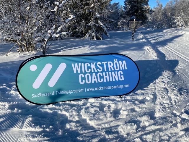 Wickström Coaching-skylt