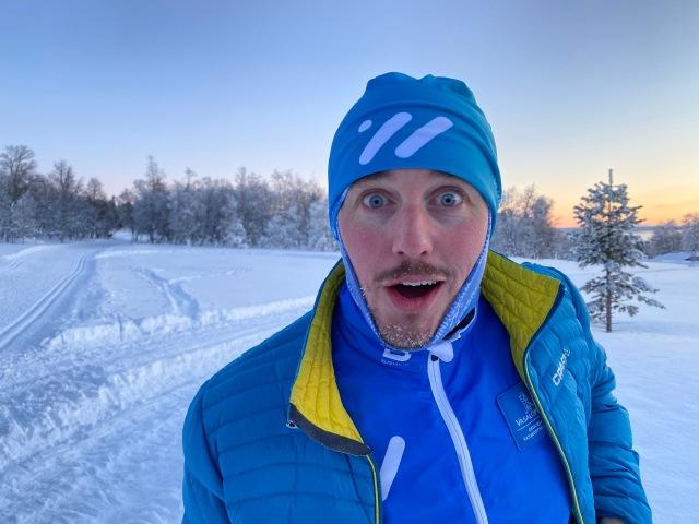 Erik Thiberg i Grövelsjön. Hjälpledare.