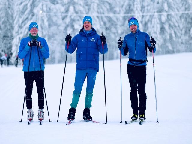 Några Wickström Coaching-adepter i Orsa Grönklitt