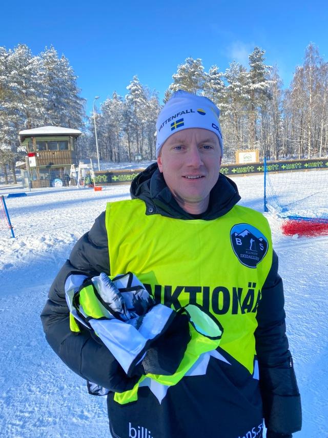 Martin Holmstrand. Inte tävlingsledare i Billingens långlopp, men typ.