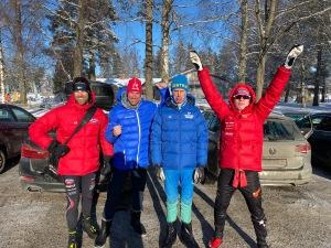 Claes Steimert, Johan Kanto och Samuel Hahnsson slog alla mig för första gången i Billingens långlopp