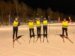 Jag glömde ta bilder i helgen, så det fick bli en då jag var instruktör vid en skidkurs på Borås skidstadion nyligen.