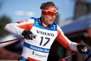 Stanislav Rezac hade pannbandet upp-och-ner. Årets 34:e-plats var hans sämsta placering på 23 försök förutom 2008 då han blev 47:a. Men om jag minns rätt var en inblandad i en masskrass utan dess like vid järnvägsbron innan Moraparken det snöåret. Foto: Magnus Östh