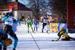 Lina Korsgren. Vilken gigant. Undrar varför det står youth istället för champion på gula västen. Foto: Magnus Östh.