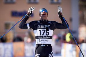 Anton Karlsson tippade jag som vinnare. Det blev en andraplats. Foto: Magnus Östh