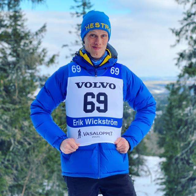 Erik Wickström inför Vasaloppet Elit 2021