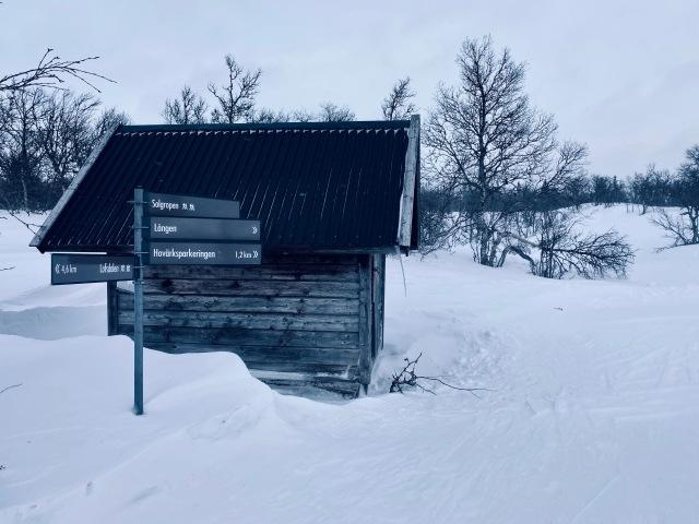 Nära Solgropen i Lofsdalen