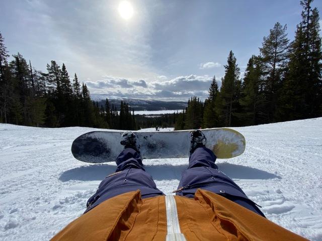 Snowboard i Lofsdalen