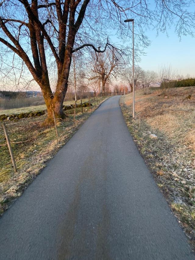 Gott om cykelbanor i Viared