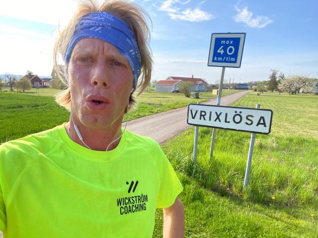 Vrixlösa på Visingsö. 5 km i Löparsko Nike ZoomX Vaporfly NEXT%