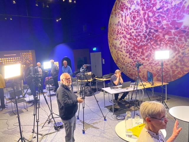 Paneldebatt på Navet med De Sju Häradernas Kulturhistoriska Förening som arrangör