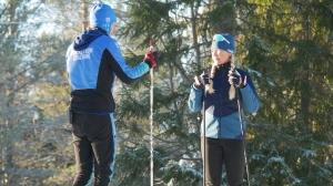 Skidläger för adepter i Wickström Coaching