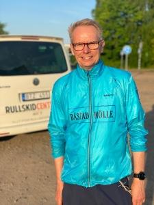Rullskid-Patrik på rullskidcenter.se i kvällssol