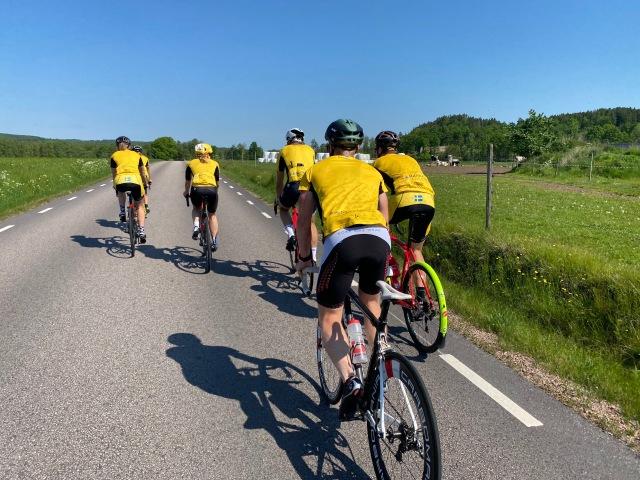 Landsvägscykling med Team Ramudden