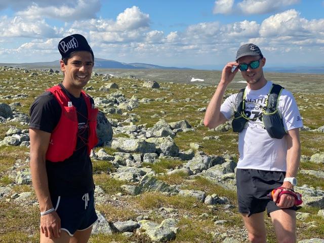 Fjällöpning i Bydalen med Robie Islam och hans kompis Kekke