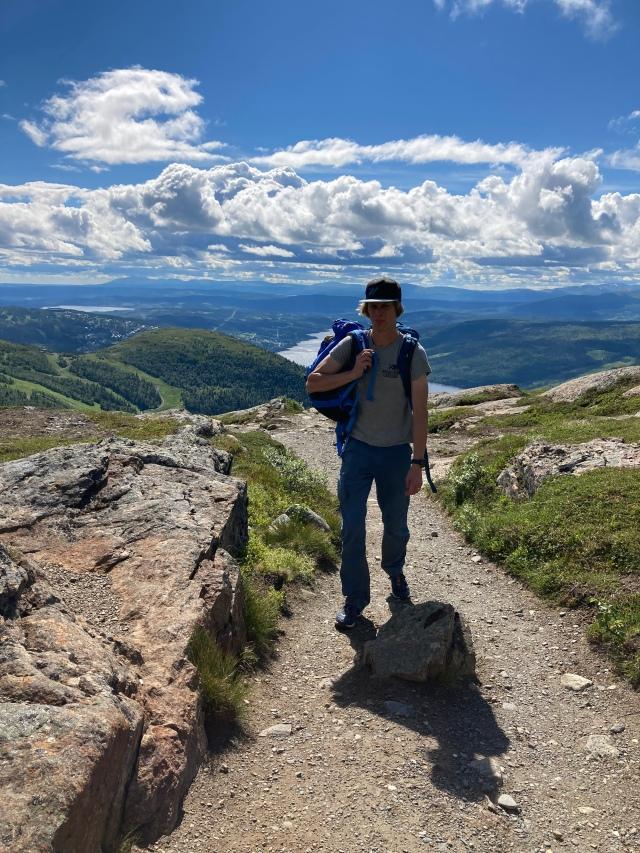 Vandring på Åreskutan