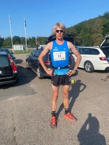Inför start i Bjäre Trail Run 2021