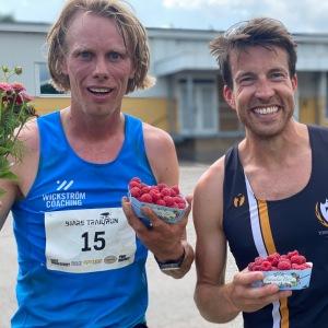 Min sommarkompis Adam Stenman vann 17 km-klassen