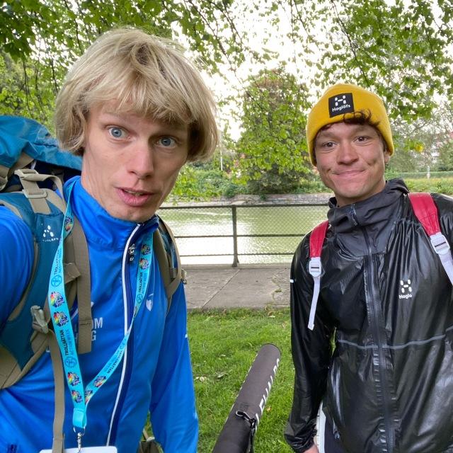 Nils van der Poel körde ett varv (16 km) klassiskt på ca 1 timme. Annars tränar han inte rullskidor.